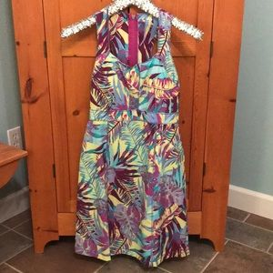 "Title Nine ""trouble"" dress sz 2 with bra shelf"
